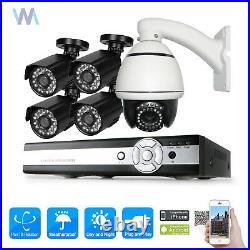 1200TVL HD 10x Zoom PTZ IR Day Night Dome CCTV Security Camera DVR PTZ DVR Kit