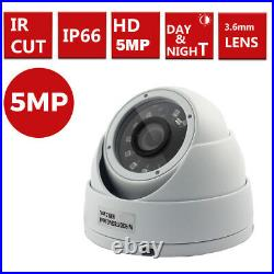 16CH Hikvision CCTV HD 1080P 5MP Night Day Outdoor DVR Home Security System Kit