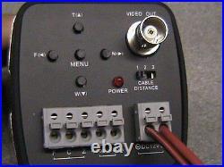 27x Optical Zoom Camera 700 Tvl Day Night Police Dash Cam+wireless Rf Remote