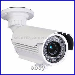 2 Security Camera Outdoor Infrared Day Night Vision Varifocal 700TVL 42 LEDs BTX