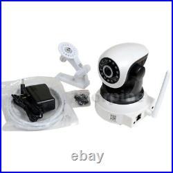 2x Wireless Network IP Security Camera Wifi Audio IR Day Night Surveillance AF3