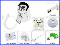 3G/4G WiFi CCTV Camera Pan/Tilt 10x Optical Zoom Ultra High Definition Day/Night