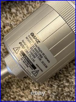 3 Ganz IR Color Camera ZC-BNX4312NHA Outdoor Day/Night IR Bullet Cameras EUC