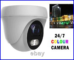 4CH Full HD DVR + 2MP Day/Night color 2.8mm Lens Security System