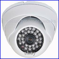 4x Security Camera Outdoor IR Day Night Wide Angle Built-in SONY Effio CCD bav