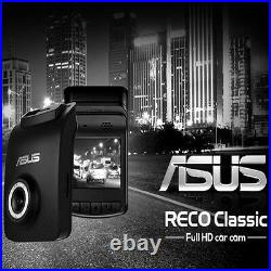 ASUS RECO Classic Car Camera FULL HD 1080p HDR Day Night Video Recorder NEW