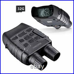 BNISE Digital Night Vision Binoculars for Adults Day and Night Use Infrared
