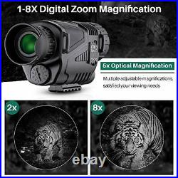 BNISE Infrared Camera Night Vision Monocular 8X40 for Day and Night HD Digital