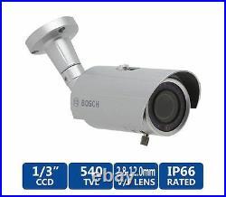 Bosch VTI-218V03-1 WZ18 Integrated IR Day/Night High Resolution Bullet Camera