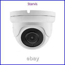 CCTV Camera 1080P 5MP 2K HD Sony Starvis COMS UTC IR Day Night Dome Outdoor UK