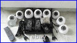 Comjplete camera beveiligings set, dvr 8ch H264, cameras 1000 TVL day-night