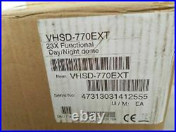 Concept Pro High Speed Dome Camera Day/Night 23 XZoom Ref VHSD-770EXT