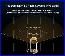 DDPAI 1600p 2K HD Car Driving Recorder Dash Camera Video DVR Night & Day Vision