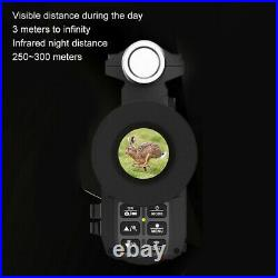 Day & Night Infrared HD Camera Video WIFI Digital Night Vision Device With IR Lamp