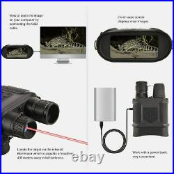 Day/Night Vision Binocular Digital Infrared Scope Photo Camera Video Recorder