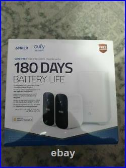 Eufy Security, EufyCam 2C Wireless Home Security System 1080p Night 180 Days