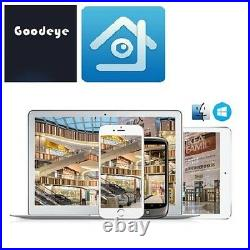 GoVision Home CCTV Full HD 5MP 1080P Day Night Vision Security Cameras Kit UK