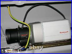 HONEYWELL HCD544PVX DAY / NIGHT CCTV CAMERA + HLD5V50DNL lens IN METAL CASING