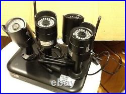 HomeGuard HGNVK88304-1 8CH Wireless NVR & 4x 1080P Day/Night CCTV Cameras 0TB