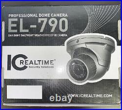 IC Realtime EL-790 Professional DNR Dome Day/Night Weatherproof IR Camera