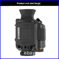 IR HD Night Vision Scope Monocular Infrared Camera Video Day & Night Hunting
