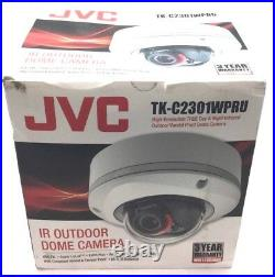 JVC Kenwood TK-C2301WPRU Security Surveillance Hi Res Day Night Infrared Camera