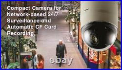 JVC VN-C625U Network Mini Speed Dome Camera 12X PTZ CCTV UltraCompact Day/Night
