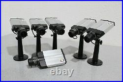 LOT OF 6 Axis 221 Day/Night POE IP Network Surveillance Security Camera 0221-001