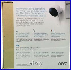 Nest Cam Outdoor Weatherproof Security Network Camera Day/Night 1080P NC2100ES