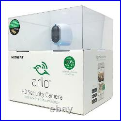 Netgear Arlo Security Wire-Free HD Cube Camera Indoor Outdoor Day Night Vision