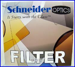 New Schneider 4x4 Day for Night Water White Glass Filter MFR # 68-200044
