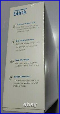 New Sealed Blink Black Outdoor Security Cameras 5 Camera System Day Night HD