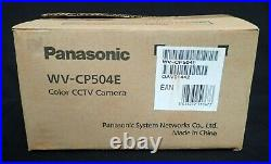 Panasonic Wv-cp504e Colour Cctv Super Dynamic 5 Day/night Camera New