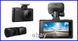 Pioneer VREC-DH300D Front Rear Camera 135º Dash Camera Cam DAY / Night Vision