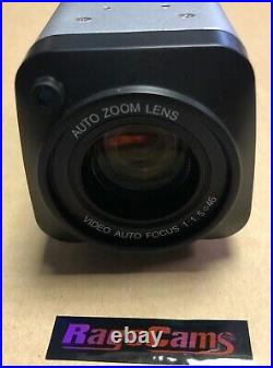 Police Dash Cam 30x Optical Zoom Day Night Camera 1200 Tvl+wireless Rf Remote