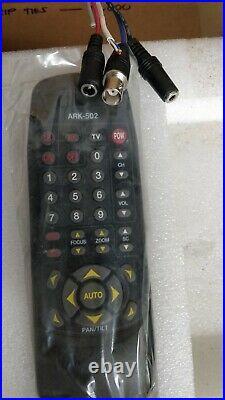 Remote PTZ Camera IR Remote/RS485 Hi-Res, 230X Zoom, Day & Night Alram Input