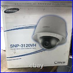 Samsung SNP-3120VHP 12x Zoom IP Day/Night Vandal Proof PoE CCTV PTZ Dome Camera
