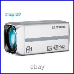 Samsung Scz-3430p High Resolution Body Box Camera 43x Zoom Day/night Cctv Camera
