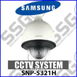 Samsung Snp-5321h 1.3 Megapixel Network Poe Cctv Dome Camera Day & Night H. 264 M