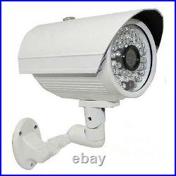 Sony CMOS CCD 1800TVL 48IR 3.6mm Lens Day Night Vision Outdoor Security Camera