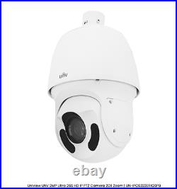 Uniview UNV 2MP 20X Zoom Network PTZ Camera Mic In/Out ONVIF AWB Day/Night H. 265