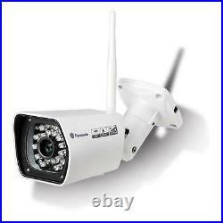 Wireless Outdoor Bullet IP Camera H. 264 IR LEDs 20m Range IP67 Day & Night White