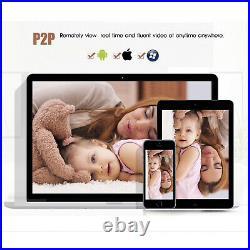 Wireless WiFi 3G/4G LTE 5MP IP CCTV Security Camera IR Day/Night Colour H. 265 HD