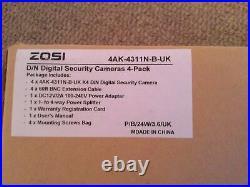 Zosi Digital Day/Night Security Camera Kit Plus DVR